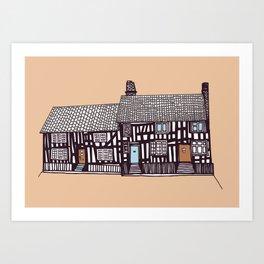 'Suffolk' House print Art Print