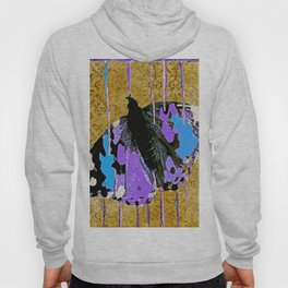 Butterfly Vison in Blue and Purple Hoody