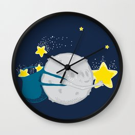 Star Harvester Wall Clock
