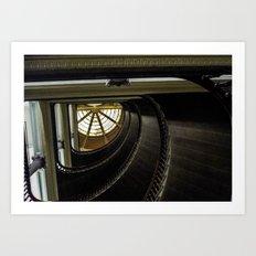 Stair[stare]well but watch for vertigo Art Print
