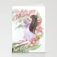 fairies Stationery Cards featuring fairies by acca