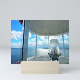 Souris Lighthouse View from the Top Mini Art Print