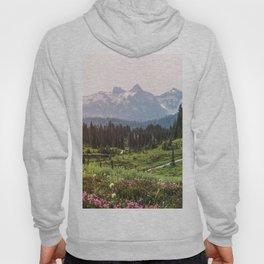 Mountain Wildflower Hiking Highs - 74/365 Hoody
