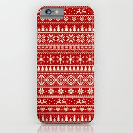 Christmas Jumper iPhone Case