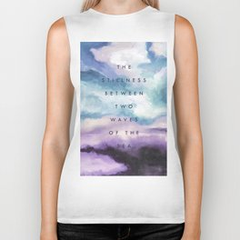 Stillness [Collaboration with Jacqueline Maldonado] Biker Tank