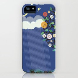 """Seasons"" Spring-Summer iPhone Case"