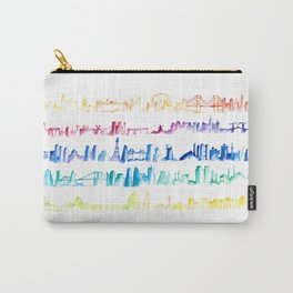 Skylines Across the World Carry-All Pouch