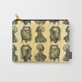 Human Anatomy Pattern Carry-All Pouch