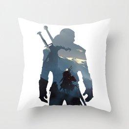 The Wild Hunt Throw Pillow
