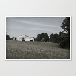 The Barn at Tally Ho Canvas Print