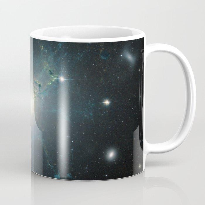 Dusty spiral galaxy Coffee Mug