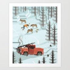 Scene #06: 'The Tree' Art Print