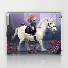 Mushroom Princess Laptop & iPad Skin