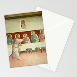 """Fra Angelico (Guido di Pietro) """"The Last Supper"""" Stationery Cards"""