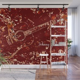 Johnny Guitar Wall Mural