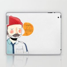 I Wonder If It Remembers Me Laptop & iPad Skin
