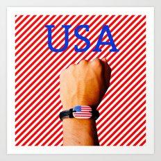 US Patriot Art Print
