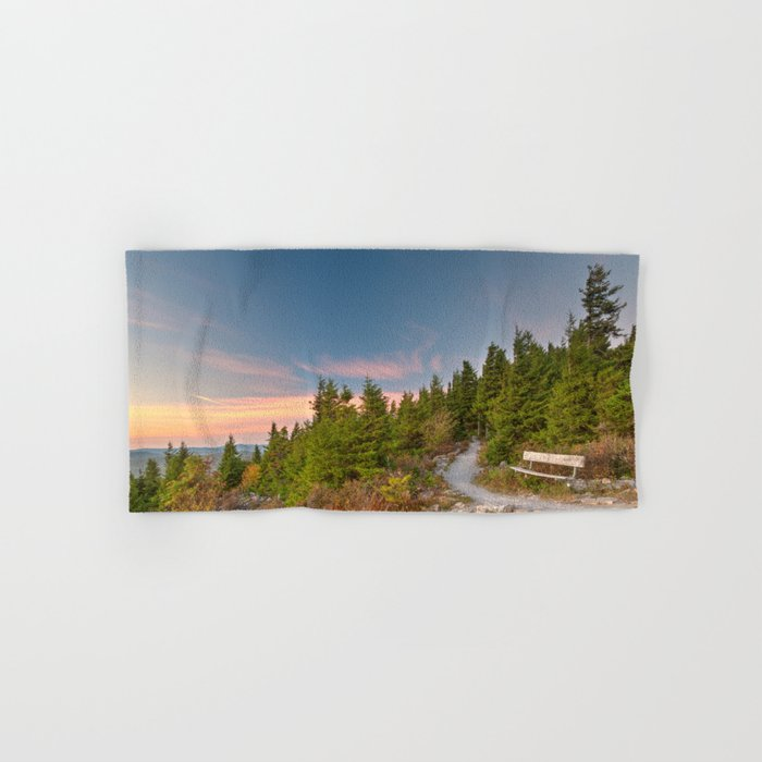 Spruce Knob Twilight Trail Hand & Bath Towel