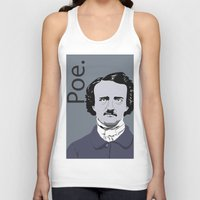 poe Tank Tops featuring Poe. by Tara Durrant Designs