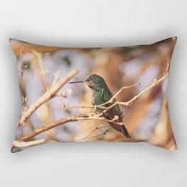 Bird - Photography Paper Effect 004 Rectangular Pillow