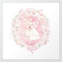 Fairy magic, make a wish Art Print