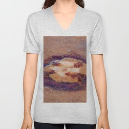 Jellyfish upside down Unisex V-Neck