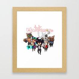 Gatetemon Band Framed Art Print