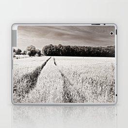 Tracks in the field Laptop & iPad Skin