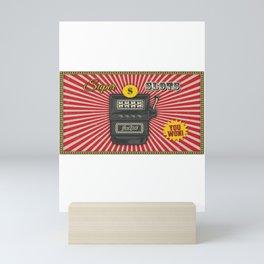 Super Slot Machine Nevada Day Mini Art Print