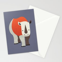 Whimsy Rhinoceros Stationery Cards