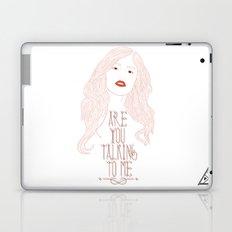 Are You Talking To Me ? Laptop & iPad Skin