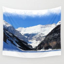 Lake Louise in Banff National Park Wall Tapestry
