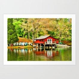 The Lake House Art Print