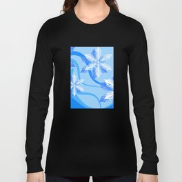 The Flower Abstract Holiday Long Sleeve T-shirt