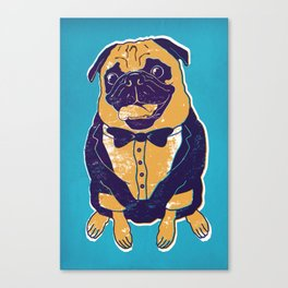 Henry the Pug Canvas Print