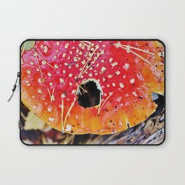 Fly amanita mushroom Laptop Sleeve