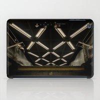 subway iPad Cases featuring SUBWAY by paulmhoward