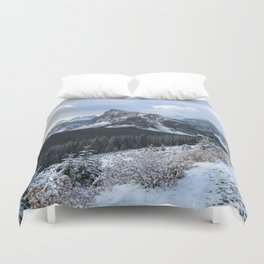 Snow-Capped Duvet Cover