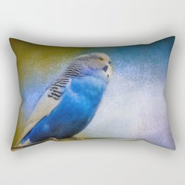The Budgie Collection - Budgie 2 Rectangular Pillow