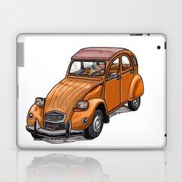 Orange 2CV Laptop & iPad Skin