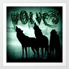 WolveS Art Print