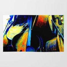 Technicolor Cellos  Rug