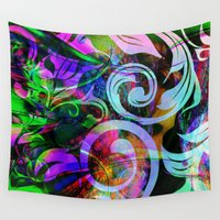 romance Wall Tapestries featuring Romance by shiva camille