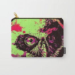 Rainbow Spectacled Owl Carry-All Pouch