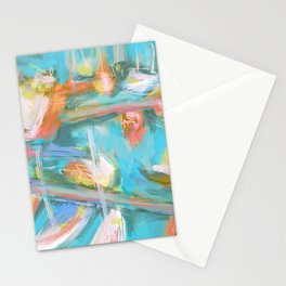 Where the Boats Go Stationery Cards
