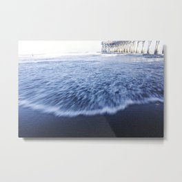 Beach Waves II Metal Print