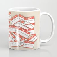 psych Mugs featuring PSYCH.. GUS FUNNY NAMES.. by studiomarshallarts