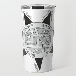 Oldest map of the world called the Babylonian #society6 #decor #buyart #artprint Travel Mug