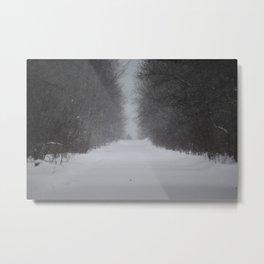 Unknown road Metal Print