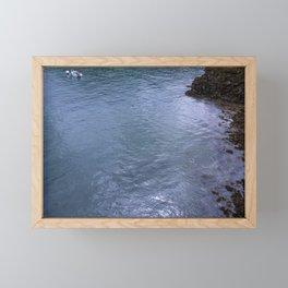 Sailing the Glass Framed Mini Art Print